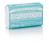 Dr. Bronner's Baby Unscented PureCastile Bar Soap 140g EKO