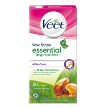 Veet Essential Inspirations Strips Legs 20st