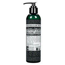 Dr. Bronner Patchouli Lime Organic Lotion 237ml EKO