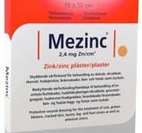 MEZINC Zinc plåster 5st 10X10cm