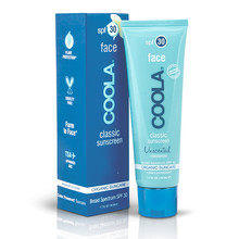 Coola Classic Face SPF 30 Unscented 50ml
