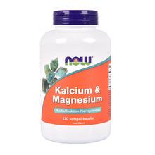 NOW Kalcium & Magnesium 120st Kapslar