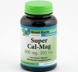 Great Earth Super Cal-Mag 600mg 300mg 100st