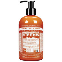 Dr. Bronner's Tea Tree Shikakai Soap 355ml