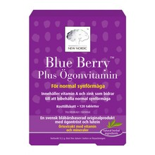 New Nordic Blue Berry Plus Ögonvitamin 120st