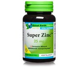 Great Earth Super Zink 25mg 100st