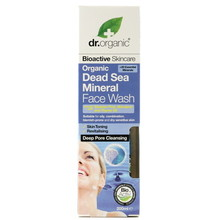 Dr Organic Dead Sea Mineral Face Wash 200ml EKO