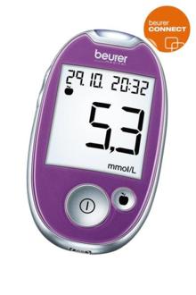 Beurer GL 44 mmol/L Lila Blodsockermätare