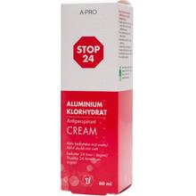 Stop 24 Antiperspirant Cream 60ml x 6st storpack