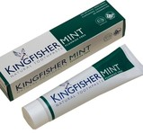 Kingfisher Tandkräm Mint Flour Fri 100ml