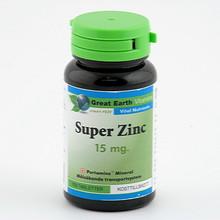 Great Earth Super Zink 15mg 100st