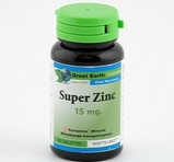 Great Earth Super Zink 15mg 100st