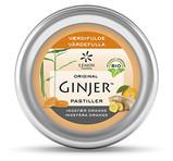 Ginjer Pastiller Ingefära Apelsin 40g