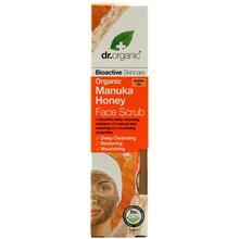 Dr Organic Manuka Honey Face Scrub 125ml