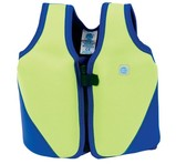 Splash About Flytande Simväst Learn To Swim Float Jacket Lime/Blue